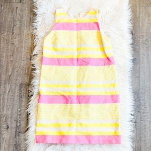 Loft Spring Stripe Shift Dress